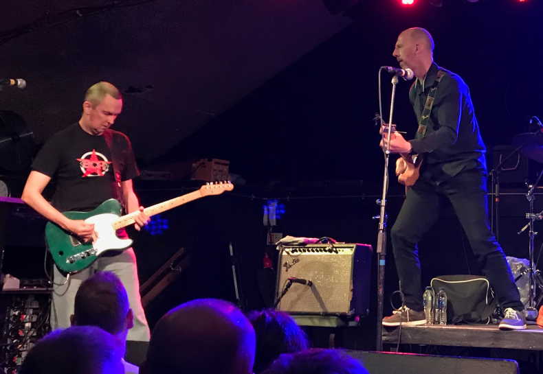 Karl Benson joins Half Man Half Biscuit