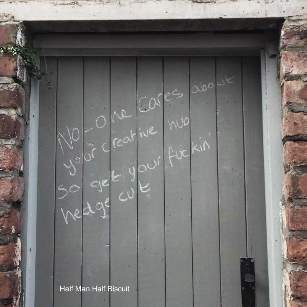 No-one Cares About Your Creative Hub So Get Your Fuckin' Hedge Cut by Half Man Half Biscuit album cover